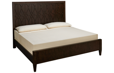 Klaussner Home Furnishings Charleston Lane King Panel Bed