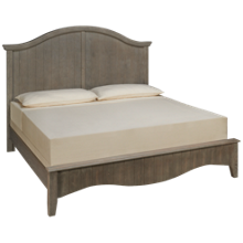 Vaughan-Bassett Casual Retreat King Arched Bed