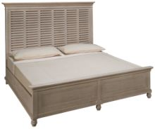 Universal Cottage King Panel Bed
