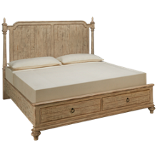 Kincaid Weatherford King Panel Storage Bed