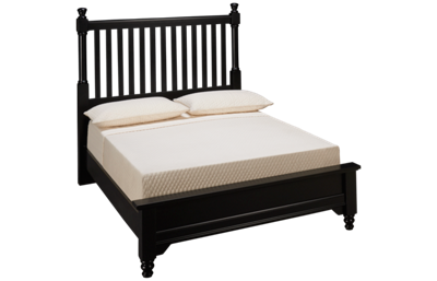 Vaughan-Bassett Cottage Full Low Profile Slat Bed