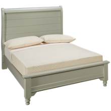 Vaughan-Bassett Cottage Full Low Profile Sleigh Bed