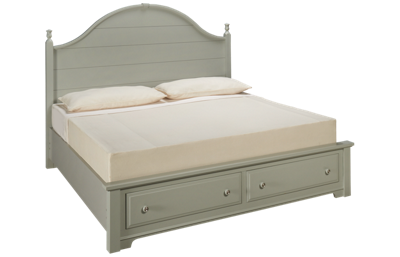 Vaughan-Bassett Cottage King Panel Storage Bed