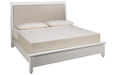 Vaughan-Bassett French Market King Upholstered Bed