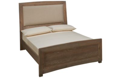 Vaughan-Bassett Transitions Full Upholstered Panel Bed