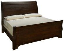 Vaughan-Bassett Whiskey Barrel King Sleigh Bed