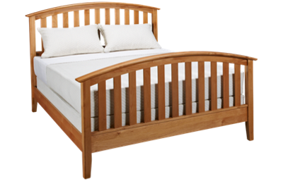Mastercraft Urban Home Queen Slat Bed