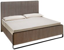 Universal Modern King Keaton Panel Bed