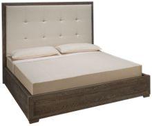 Universal Modern King Nolan Upholstered Bed