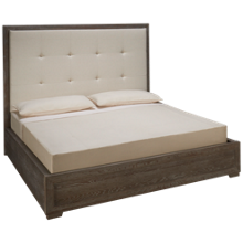 Universal Modern King Nolan Upholstered Bed
