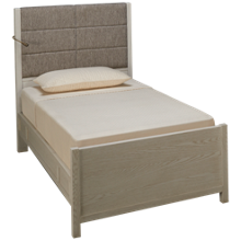 Universal Modern Spirit Twin Upholstered Bed