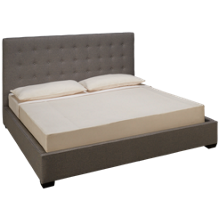 Jonathan Louis Bogart King Upholstered Panel Bed