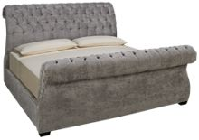 Jonathan Louis Malena King Upholstered Sleigh Bed