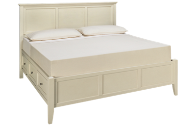 A America Northlake King Panel Storage Bed