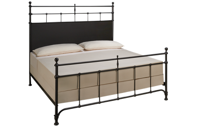 Magnolia Home King Metal Trellis Bed