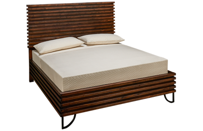 Magnolia Home Queen Stacked Slat Bed