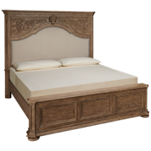 Klaussner Home Furnishings Cardoso King Upholstered Panel Bed