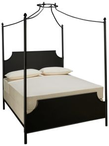 Magnolia Home Queen Iron Canopy Bed