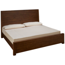 Four Hands Post And Rail King Panel Bed