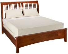 A America Cherry Garden Queen Sleigh Bed