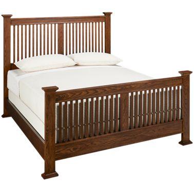 Intercon Oak Park Queen Slat Bed