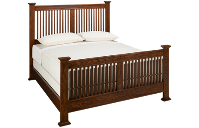 Intercon Oak Park Queen Slat Bed