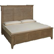Riverside Myra King Louver Bed