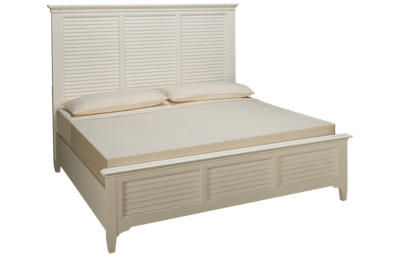 Riverside Myra King Louver Bed