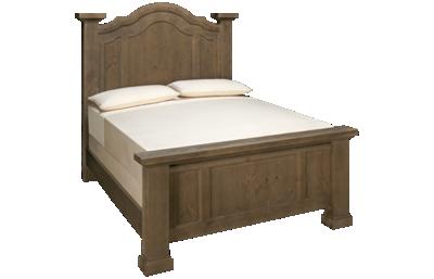 Vaughan-Bassett Rustic Hills Queen Poster Bed