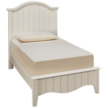 Vaughan-Bassett Casual Retreat Twin Arched Bed