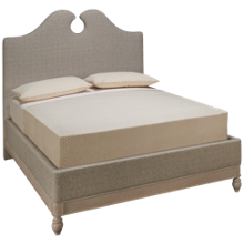 Universal Cottage Queen Upholstered Boat House Bed