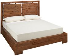 Cresent Fine Furniture Waverly Queen Panel Bed with Underbed Storage
