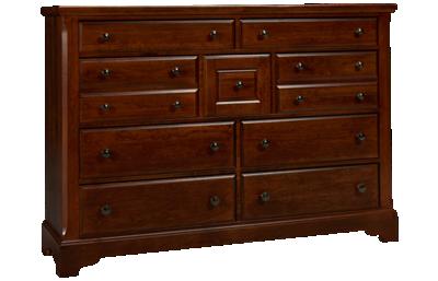 Vaughan-Bassett Artisan Choices 9 Drawer Dresser