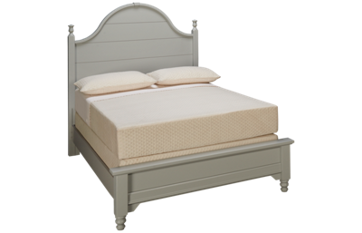 Vaughan-Bassett Cottage Full Low Profile Panel Bed