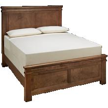 Vaughan-Bassett Cool Rustic Queen Mansion Bed