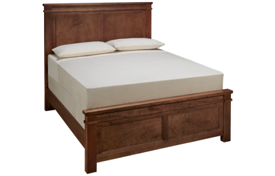 Vaughan-Bassett Cool Rustic Queen Mansion Bed