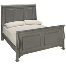 Vaughan-Bassett French Market Queen Sleigh Bed