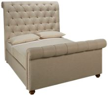 Universal River House Queen Boho Chic Upholstered Bed
