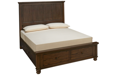 Aspen Hudson Valley Queen Storage Bed