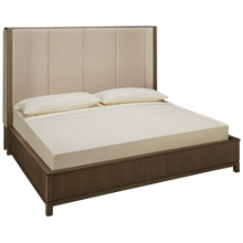 Legacy Classic Rachael Ray High Line King Upholstered Panel Bed