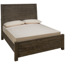 Aspen Radiata Queen Sleigh Panel Bed