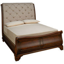 Klaussner Home Furnishings Trisha Yearwood Home Dottie Queen Sleigh Bed