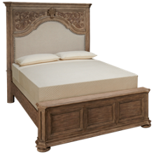 Klaussner Home Furnishings Cardoso Queen Upholstered Panel Bed