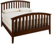 Mastercraft Palisades Queen Slat Bed