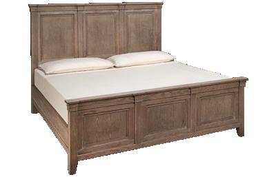 Vaughan-Bassett Passageways King Mansion Bed
