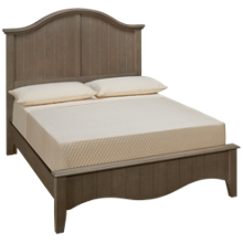 Vaughan-Bassett Casual Retreat Full Arched Bed