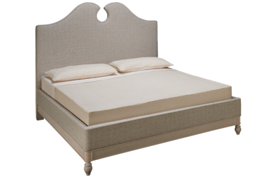 Universal Cottage King Upholstered Boat House Bed