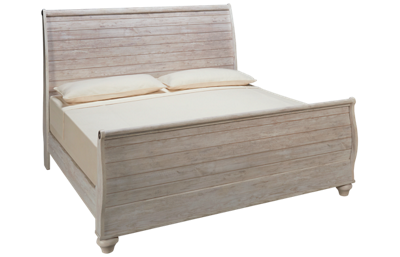 Ashley  Willowton King Sleigh Bed