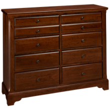 Vaughan-Bassett Artisan Choices 8 Drawer Media Chest
