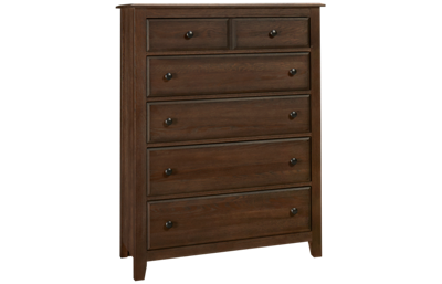 Vaughan-Bassett Artisan Choices 5 Drawer Chest